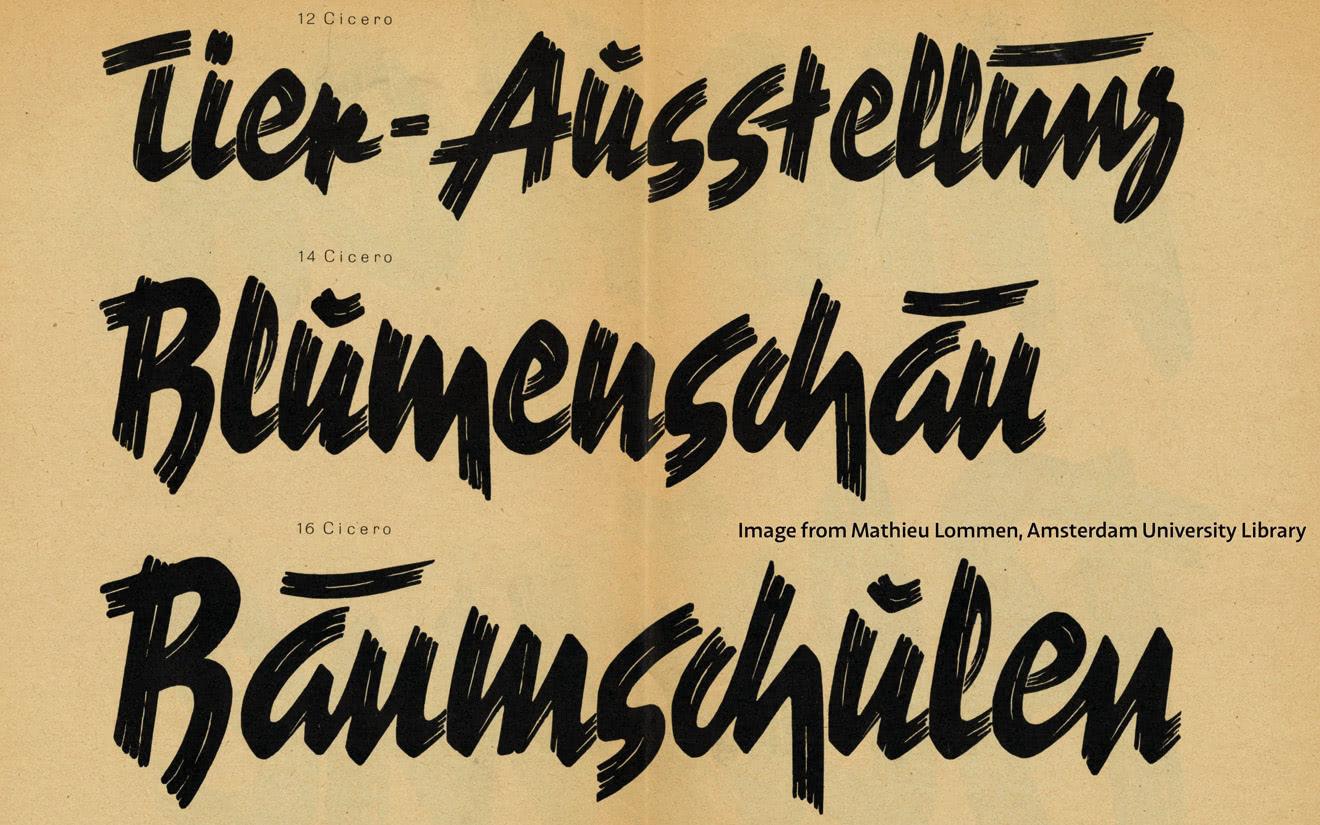 """Dan Reynolds: """"Die Norddeutsche Schriftgießerei"""""""