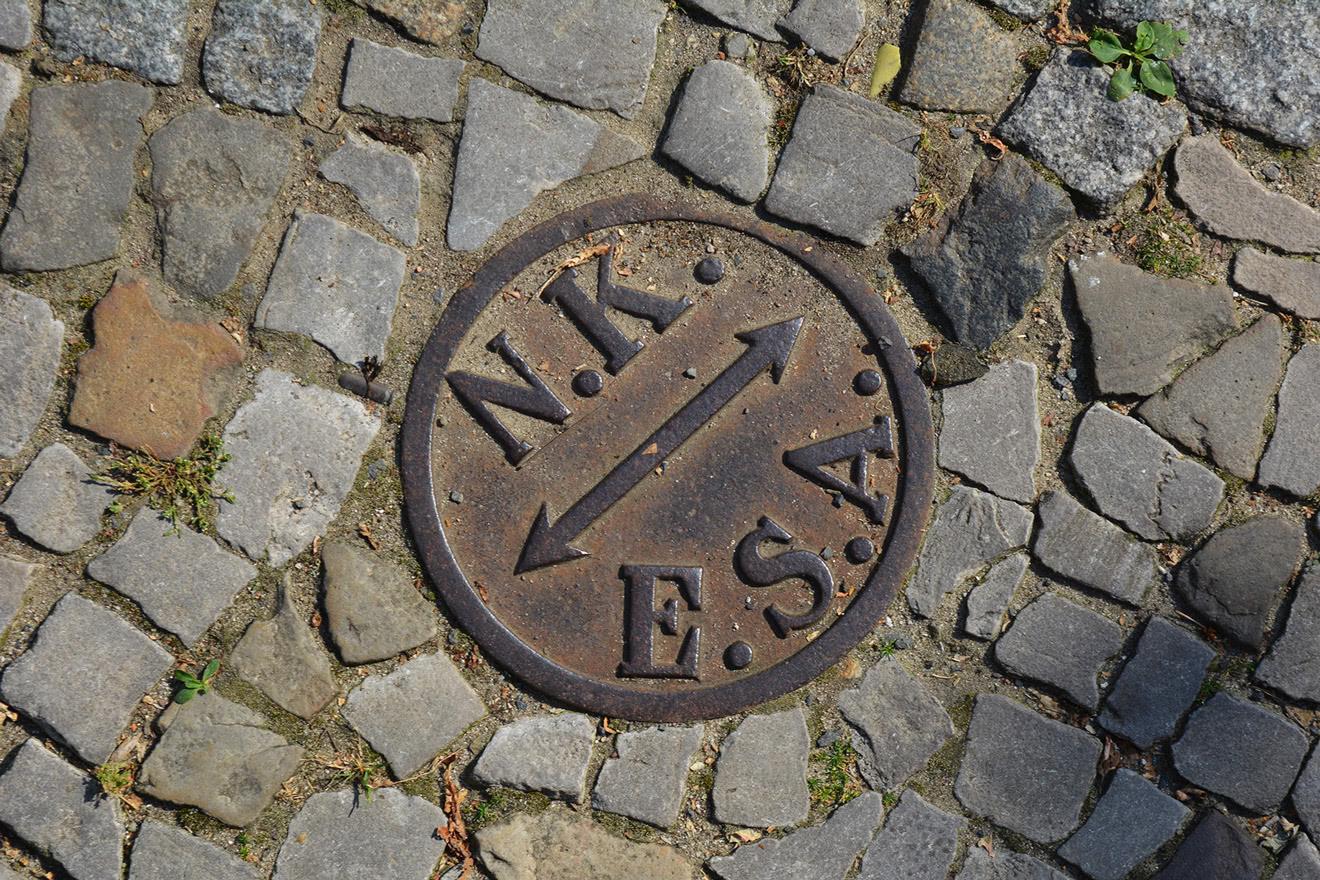 Berliner Bodenbuchstaben